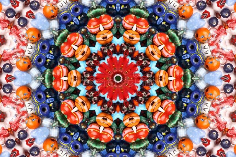 картина kaleidoscope цвета стоковая фотография