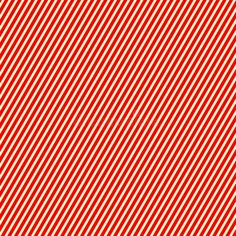 Картина striped диагональю красная белая Линии предпосылка абстрактного повторения прямые текстуры иллюстрация вектора