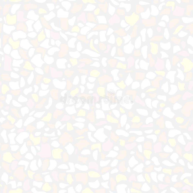 Картина terrazzo вектора красочная безшовная иллюстрация вектора