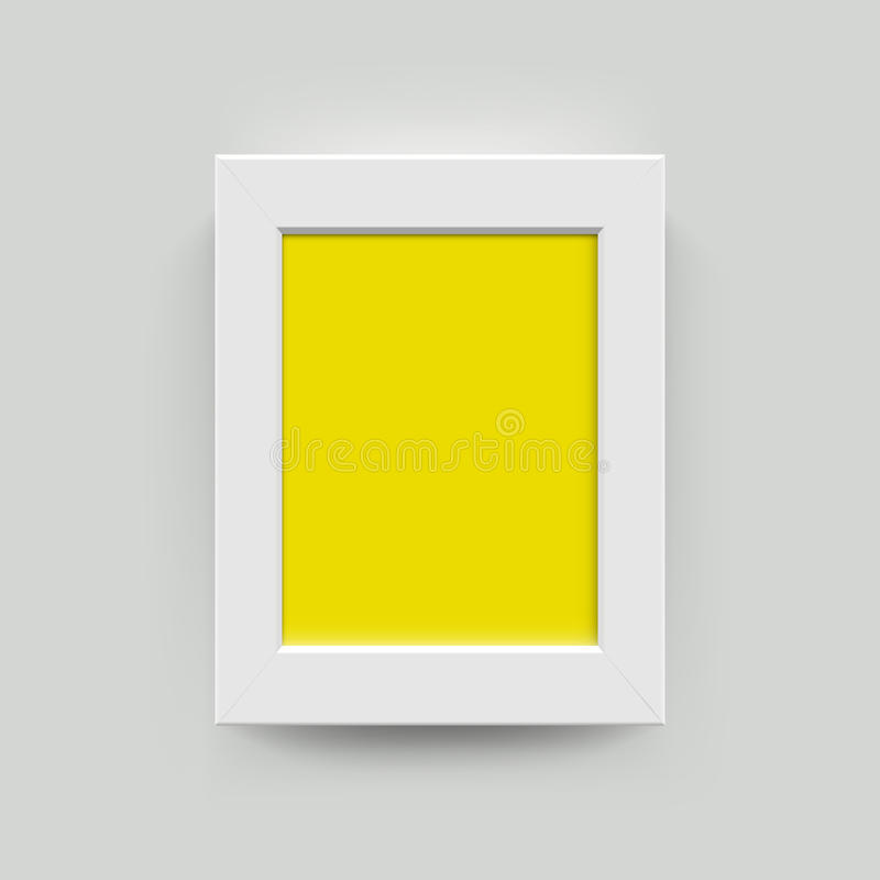 Картинная рамка для фотоснимок иллюстрация вектора