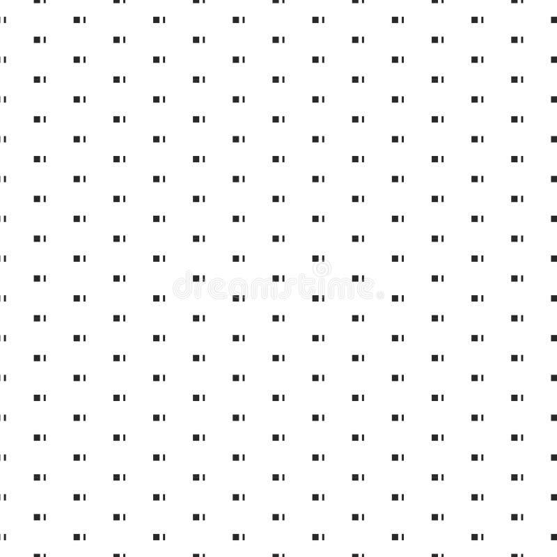 02 картины безшовных вектора геометрических черно-белых иллюстрация штока