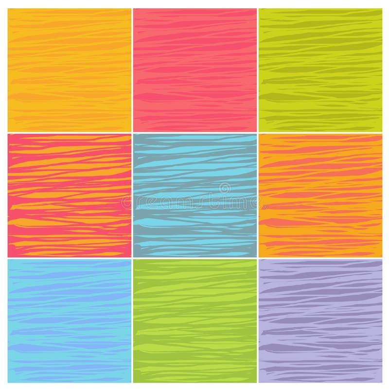 Картины линии сложной формы в множественных цветах бесплатная иллюстрация