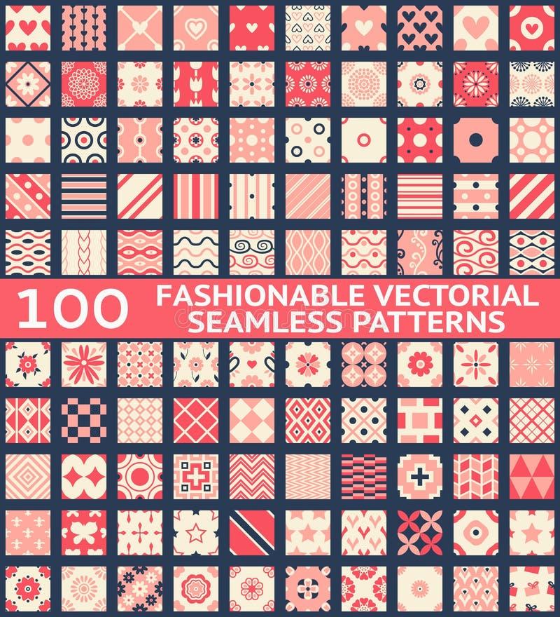 Картины модного винтажного вектора безшовные иллюстрация вектора