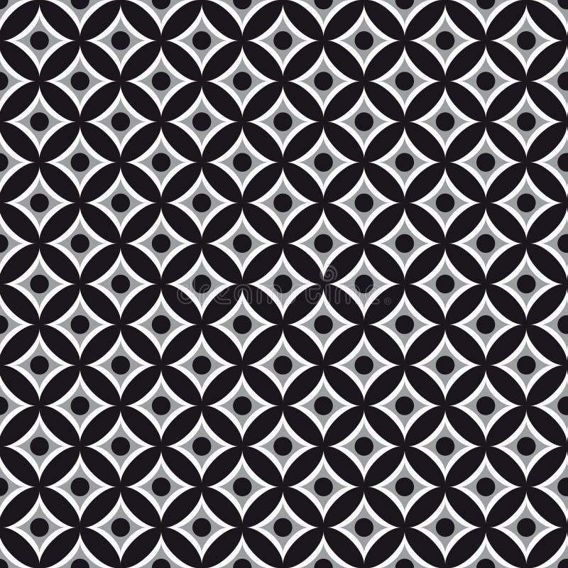картины предпосылки геометрические безшовные иллюстрация вектора