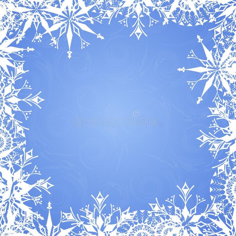 Download картины предпосылки морозные Иллюстрация вектора - иллюстрации насчитывающей изображение, приветствие: 6854031