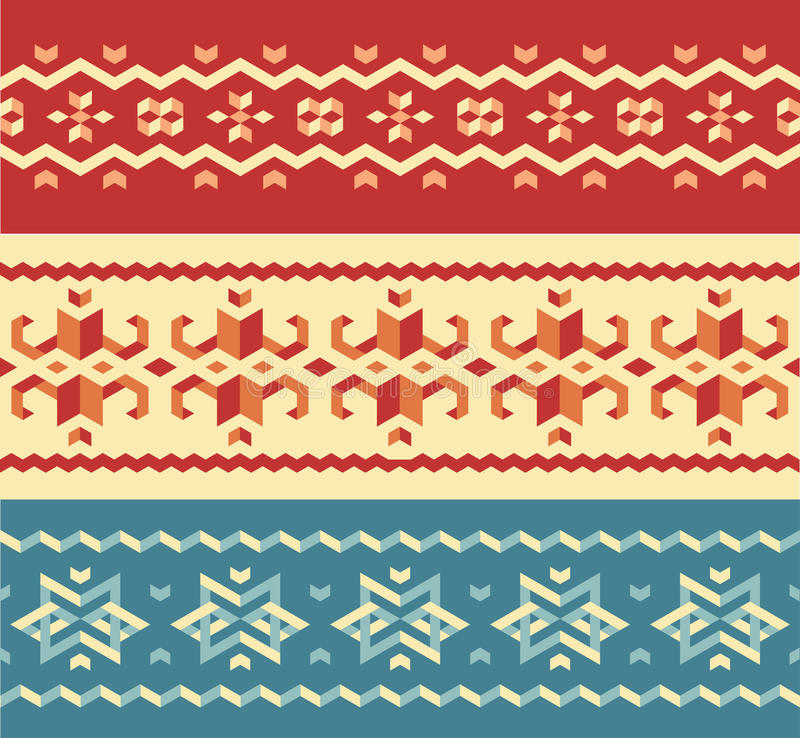 Картины свитера рождества иллюстрация штока