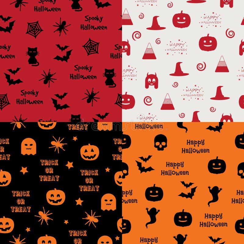 Картины хеллоуина иллюстрация вектора
