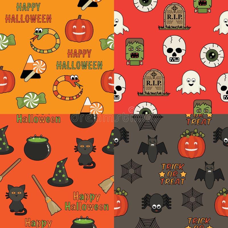 Картины хеллоуина иллюстрация штока