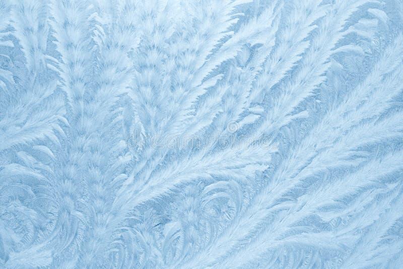 Картины Frost на стекле окна в зиме приправляют текстура матированного стекла background card congratulation invitation стоковые фото