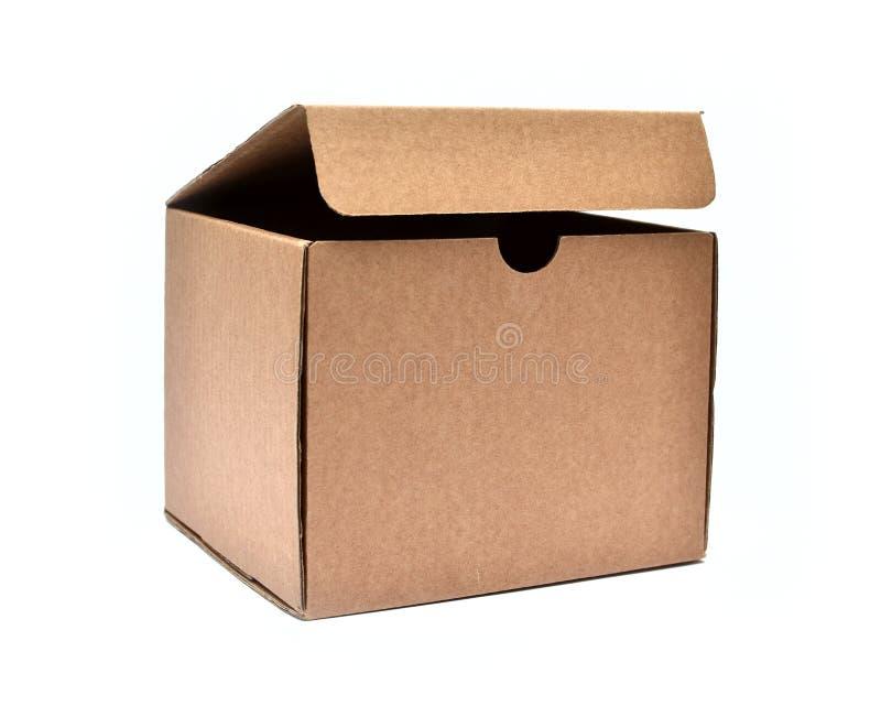 Картонная коробка Брайна стоковые изображения rf