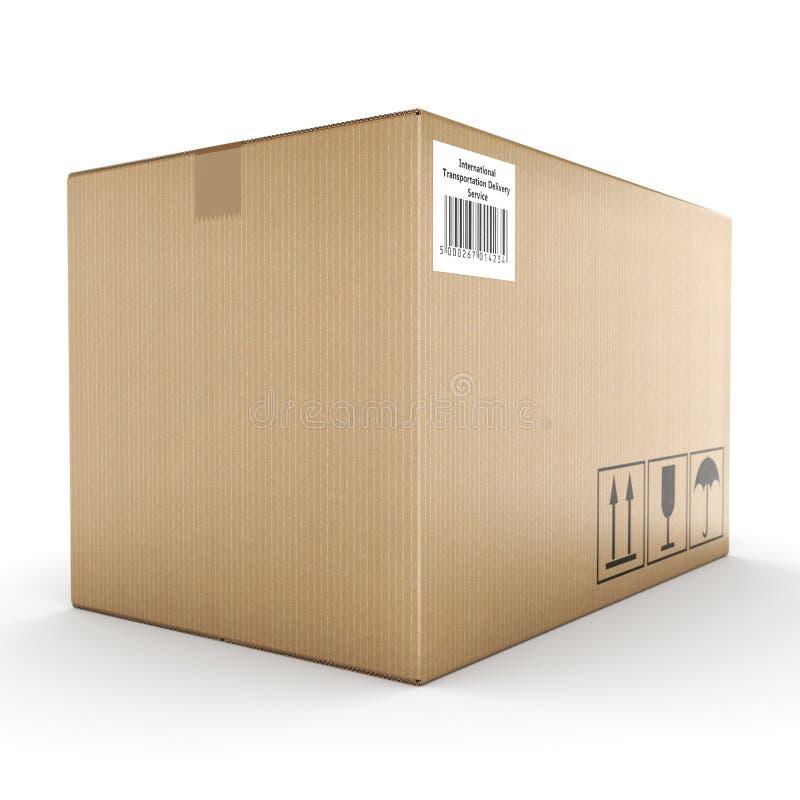 картонная коробка перевода 3D бесплатная иллюстрация