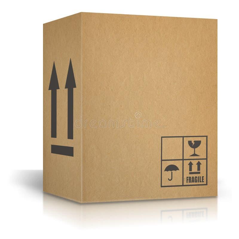 Картонные коробки иллюстрация вектора