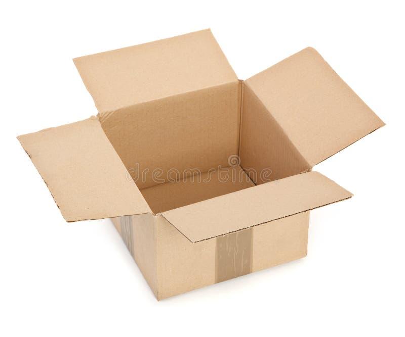 картон коробки открытый стоковое фото rf