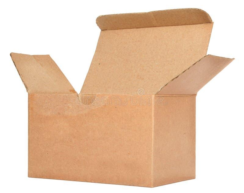 картон открытый определяет стоковая фотография