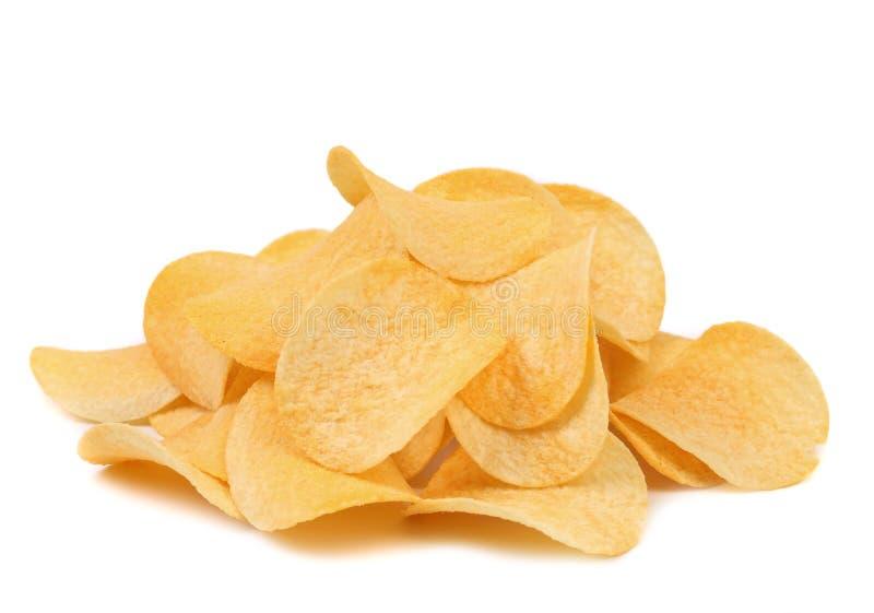 Картофельные стружки. стоковые изображения rf