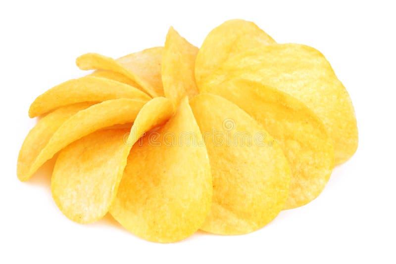 Картофельные стружки стоковая фотография rf