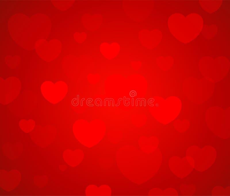Карточка валентинки приветствию, день валентинки иллюстрации счастливый с орнаментом для декоративного фестиваля влюбленности иллюстрация вектора