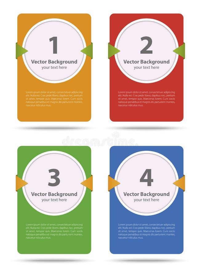 Download Карточка вектора бумажная иллюстрация вектора. иллюстрации насчитывающей прогресс - 37930918