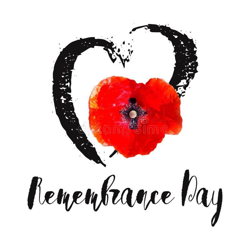 Карточка вектора день памяти погибших в первую и вторую мировые войны забудьте чтобы иллюстрация штока