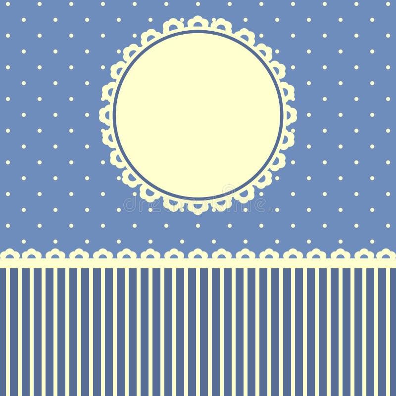 Download Карточка вектора поздравительная Иллюстрация штока - иллюстрации насчитывающей красивейшее, карточка: 40590640