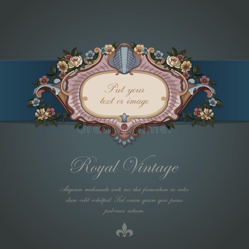Карточка год сбора винограда приветствию. иллюстрация штока