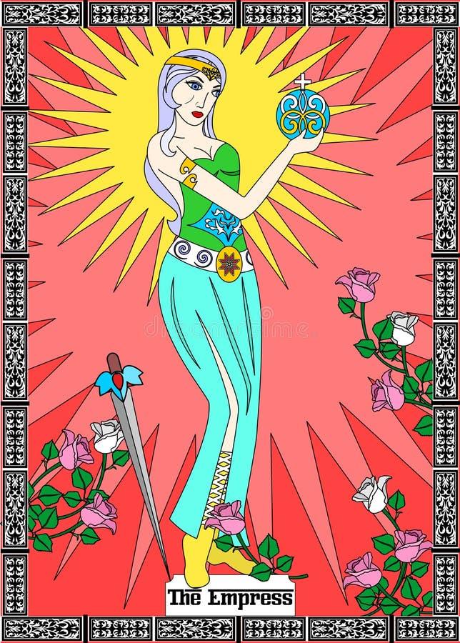 Карточка императрицы бесплатная иллюстрация