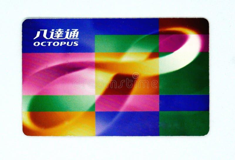 Карточка осьминога стоковые изображения rf