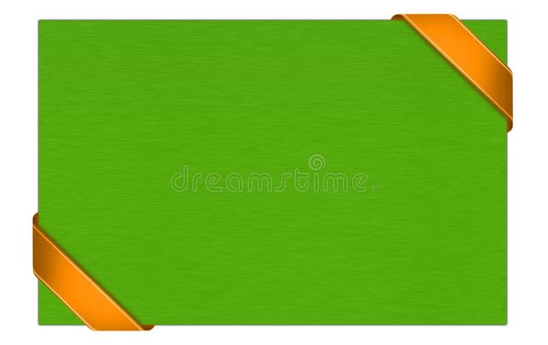 Карточка подарка с лентой бесплатная иллюстрация