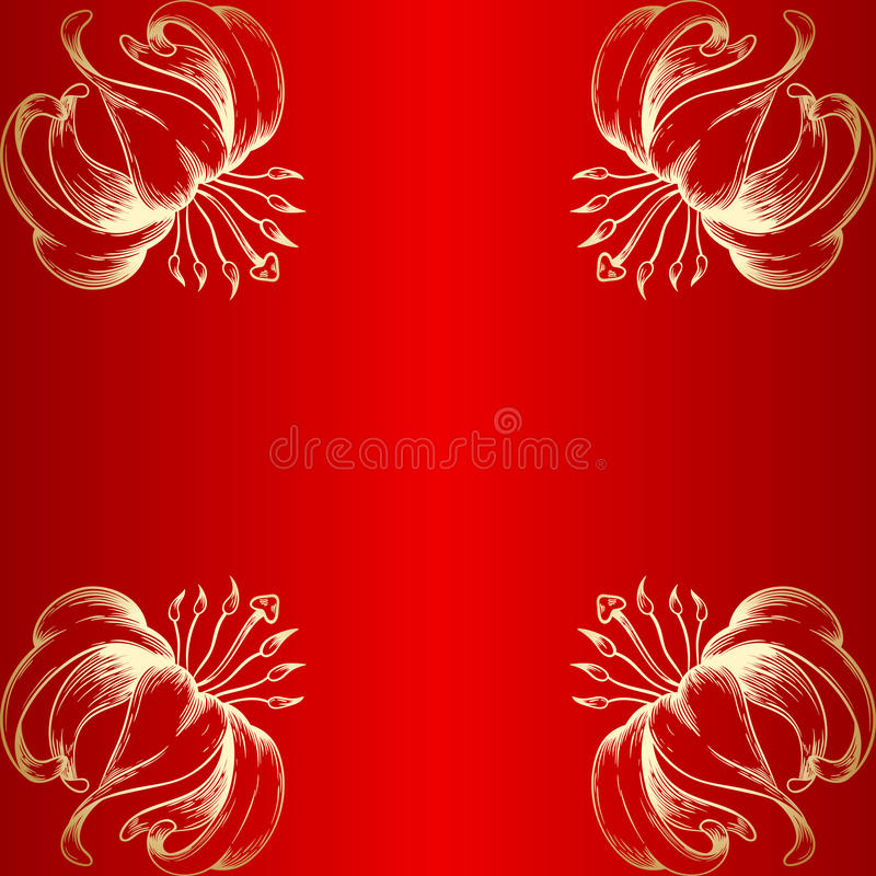 Карточка приветствию или приглашению вектора иллюстрация штока