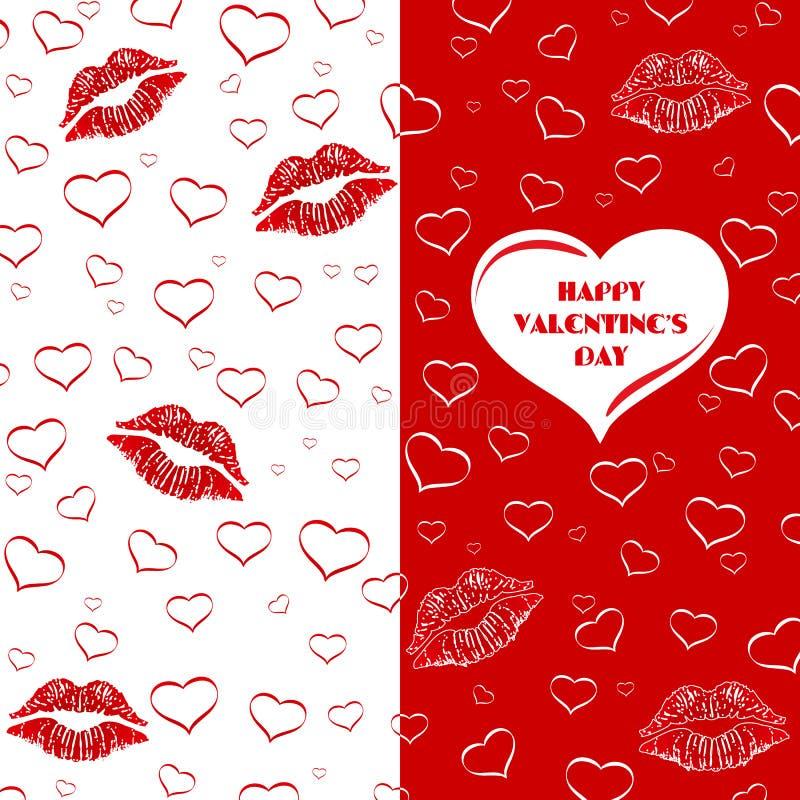Карточка, приглашение или рогулька дня валентинки стоковое изображение