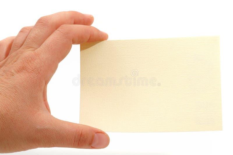 Карточка примечания стоковые фотографии rf