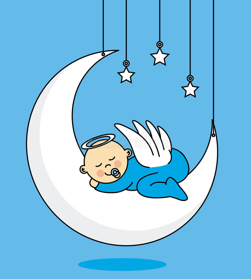 Карточка ребёнка иллюстрация штока