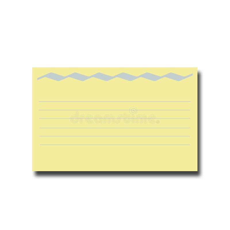 Карточка рецепта стоковое фото rf