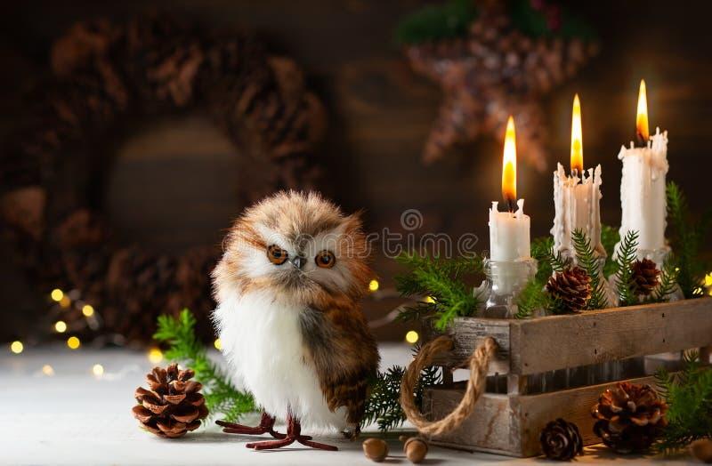 Карточка рождества или Нового Года праздничная стоковые фото