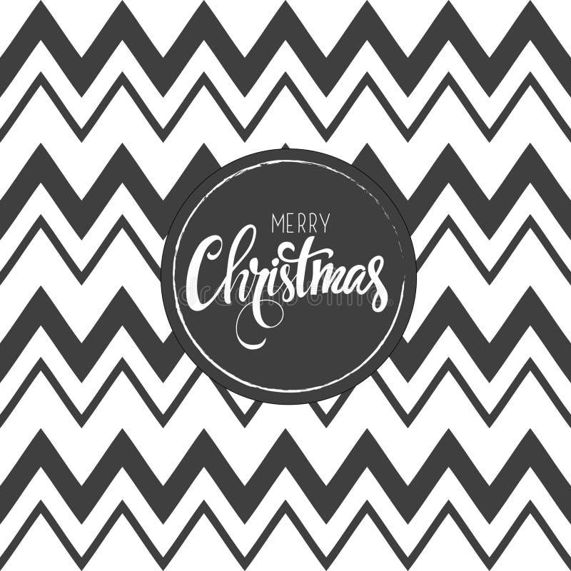 Карточка с Рождеством Христовым также вектор иллюстрации притяжки corel стоковое фото