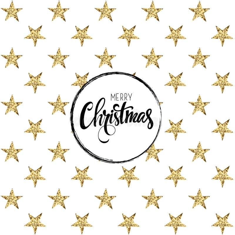 Карточка с Рождеством Христовым также вектор иллюстрации притяжки corel стоковая фотография