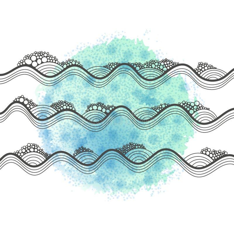 Карточка шаблона вектора всеобщая с текстурой битника бесплатная иллюстрация