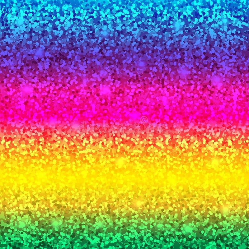 Карточка яркого блеска вектор костюмов радуги illustratin предпосылки безшовный wallpaper наилучшим образом наградное качество бесплатная иллюстрация