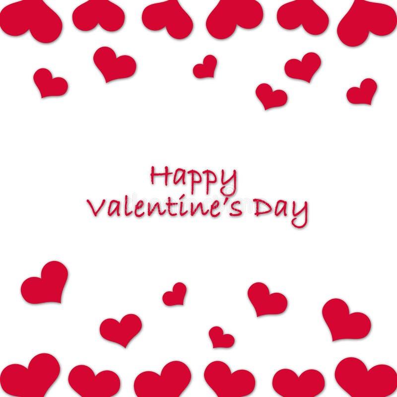 Карточка для Valentine& x27; день s стоковое фото rf
