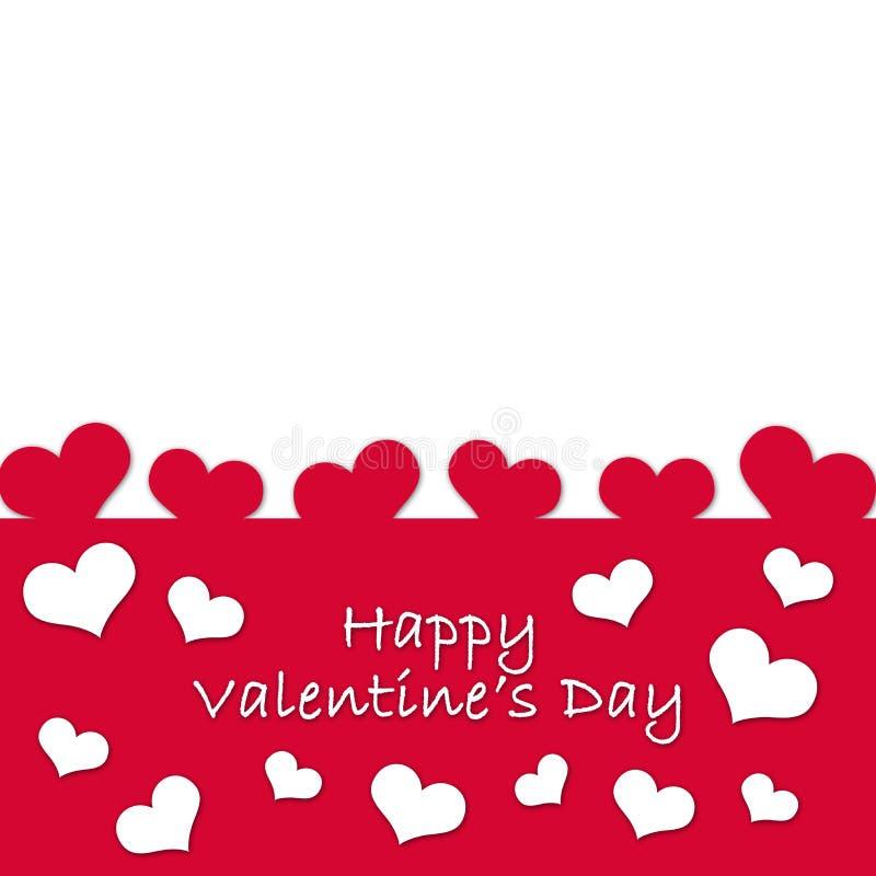 Карточка для Valentine& x27; день s стоковое фото