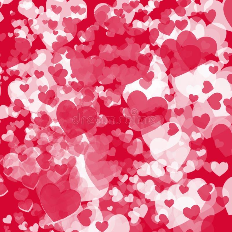Карточка для Valentine& x27; день s стоковое изображение rf
