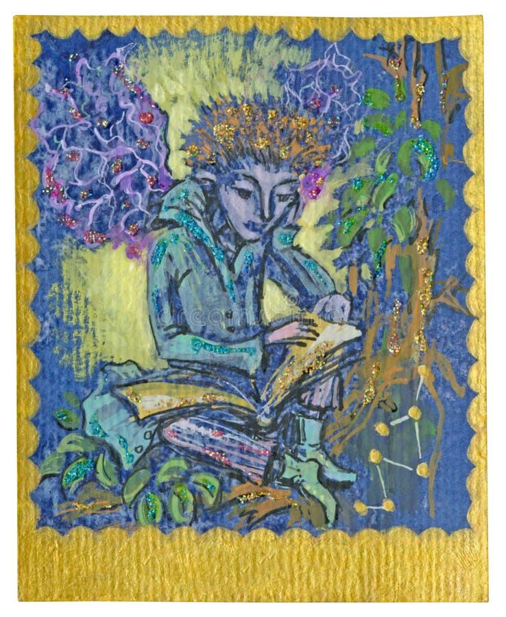 Карточка Tarot - изучение бесплатная иллюстрация