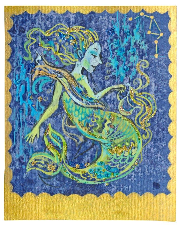 Карточка Tarot - сработанность бесплатная иллюстрация