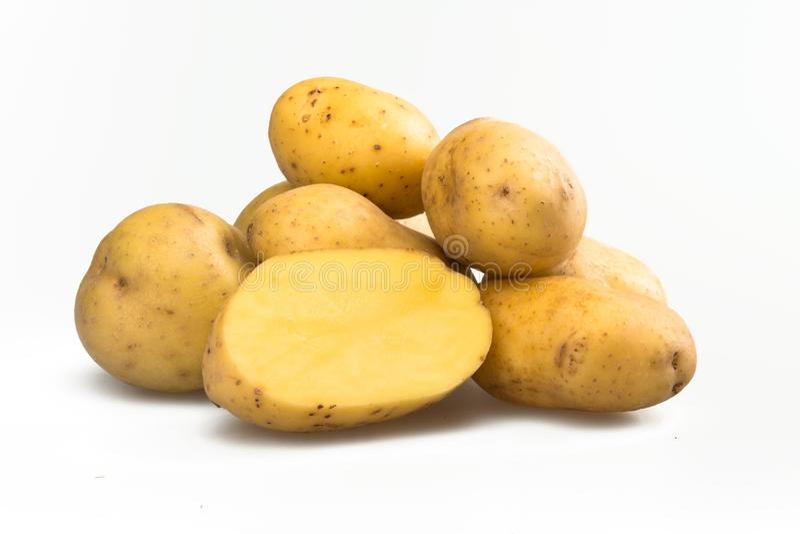 Картошки золота Юкона стоковые фотографии rf