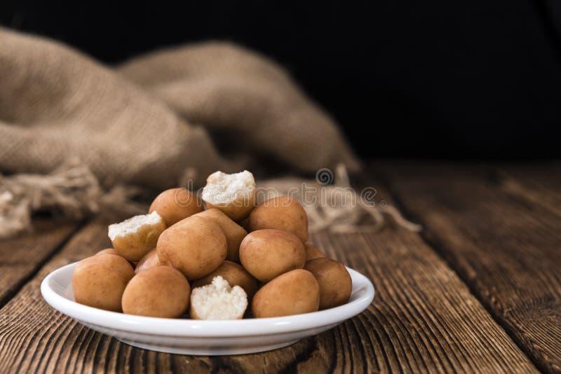 Картошки марципана (немецкая кухня) стоковые изображения