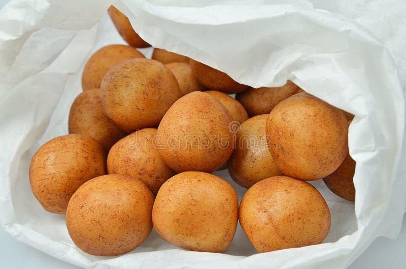 Картошки марципана стоковое фото