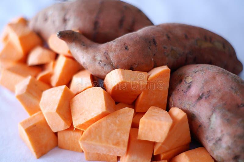 картошки сладостные стоковая фотография