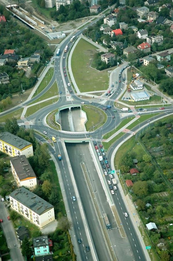 карусель шоссе стоковые фото