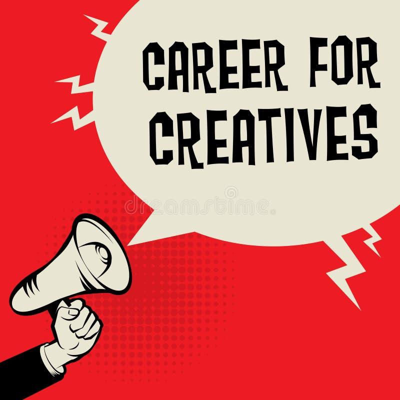 Карьера для концепции дела Creatives бесплатная иллюстрация