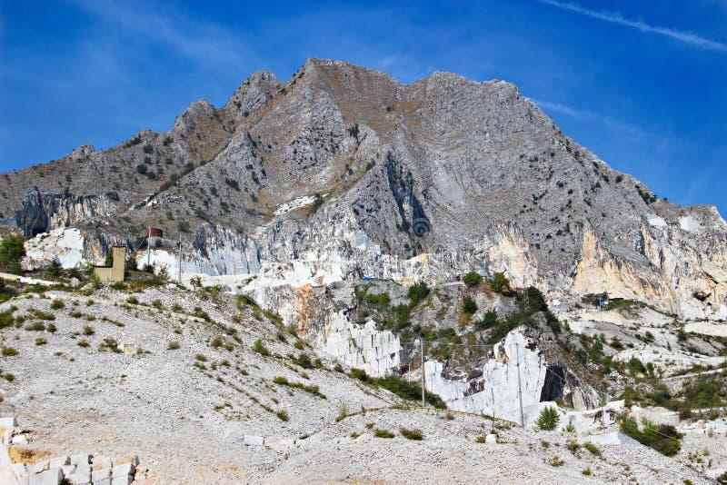 Карьеры горы и мрамора стоковые фотографии rf